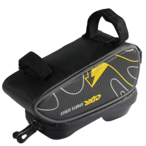 pazari4all.gr-Τσαντάκι ποδηλάτου αδιάβροχο και με θήκη κινητού εώς 6 inch Μαύρο-κίτρινο CBR Sport series OEM