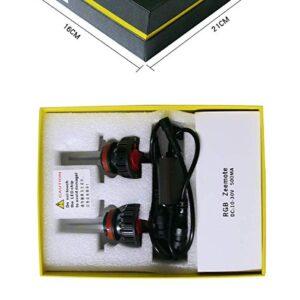 pazari4all.gr-LED ΛΑΜΠΕΣ RGB 40W 6000LM H4-H7 ΜΕ BLUETOOTH