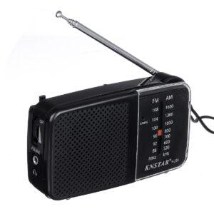 pazari4all.gr-Ραδιόφωνο Knstar K-258 AM FM