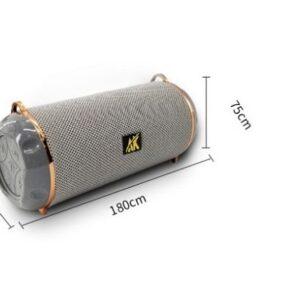 pazari4all.gr*Φορητό ασύρματο ηχείο με bluetooth και φακό AK117