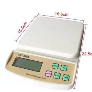 pazari4all.gr-Ψηφιακή Ζυγαριά Κουζίνας Ακριβείας 10kg Fuzion SF-400Α