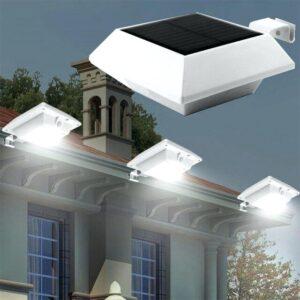 pazari4all.gr-Ηλιακός προβολέας με 4 LED και αισθητήρα κίνησης