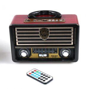 pazari4all.gr-Vintage φορητό ηχοσύστημα M113BT