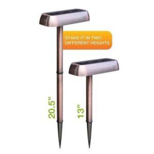 Ηλιακό φωτιστικό χάλκινο 3 σε 1 ΟΕΜ-pazari4all (3)