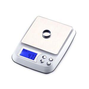 pazari4all.gr-Μίνι αξιόπιστη ζυγαριά ακριβείας 0.1gr/3kg DMC km3000