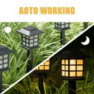 pazari4all.gr-LED Ηλιακό φωτιστικό για υπαίθριους χώρους