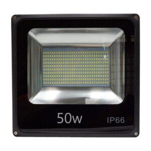 pazari4all.gr-Αδιάβροχος εξώτερικος προβολέας LED λευκό φως 50W