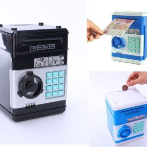 pazari4all.gr-Ηλεκτρονικός Κουμπαράς – Χρηματοκιβώτιο Με Κωδικό Ασφαλείας