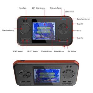 pazari4all.gr-Φορητή Ρετρό Κονσόλα με 416 Παιχνίδια σε στύλ Gameboy