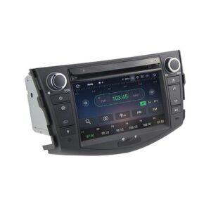 "pazari4all.gr-7"" android 9.0 Bluetooth car radio dvd audio navigation system for Toyota RAV4"