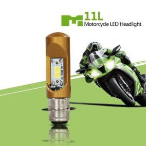 pazari4all.gr-Λάμπα LED M11L Διπολική Μοτοσικλέτας DC 800LM Plug and Play Λευκού χρώματος