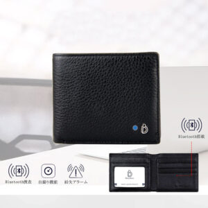 pazari4all.gr-Δερμάτινο Πορτοφόλι Antilost Bluetooth Baydow BD-015B