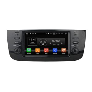 pazari4all.gr-Οθόνη android 8.0 GPS DVD Player για Fiat Linea 2014-2015 KD-6247