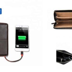 pazari4all.gr-Πολυλειτουργικό πορτοφόλι power bank 6000 mAh