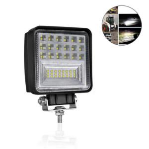pazari4all.gr-Αδιάβροχος Προβολέας Αυτοκινήτου 42w Με 2 Τύπου LED Διάχυτου & Μακρινού Φωτισμού Spot & Flash 42SMD 6000K 9-30VΑδιάβροχος Προβολέας Αυτοκινήτου 42w Με 2 Τύπου LED Διάχυτου & Μακρινού Φωτισμού Spot & Flash 42SMD 6000K 9-30V