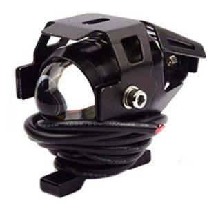 pazari4all.gr-Αδιάβροχος προβολέας μοτοσυκλέτας Cree LED U5 mini Angel Eye μαύρου χρώματος 1 τεμ. IP67 OEM