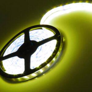 pazari4all.gr-pazari4all.gr-Αδιάβροχη 5M 24W LED ταινία / strip 300 SMD 5050 με ταινία διπλής όψεως θερμό Λευκό IP65 OEM