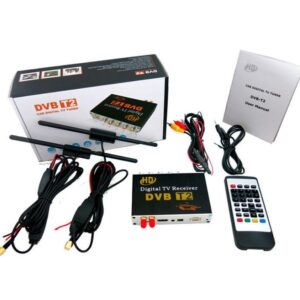 pazari4all.gr-Δέκτης Τηλεόρασης Αυτοκινήτου DVB-T Αποκωδικοποιητής Digital Tv Car Receiver PVR - HDMI