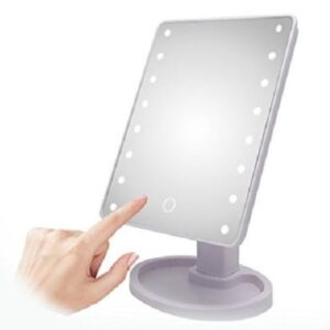 pazari4all.gr-Καθρέφτης μακιγιάζ – Καθρέπτης με 22 φώτα Led – Led mirror