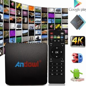 pazari4all.gr-Android TV Box Lite 4K HD 9.0 Smart TV Wifi Andowl Q4 16GB