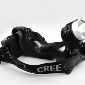 pazari4all.gr-Επαναφορτιζόμενος Φακός κεφαλής ποδηλάτου 1800 Lumens XM-L T6 LED