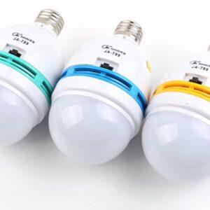 pazari4all.gr-Επαναφορτιζόμενη, Τηλεχειριζόμενη LED Λάμπα Οικονομίας Ε27 - Remote Control Emergency Lamp