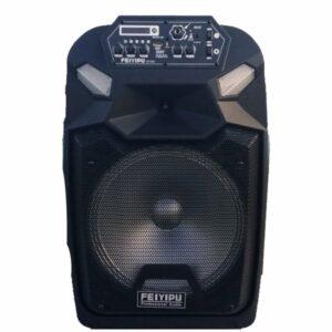 pazari4all.gr-Φορητό ηχείο με δύο μικρόφωνα Bluetooth 200w Feiyipu ES-222S