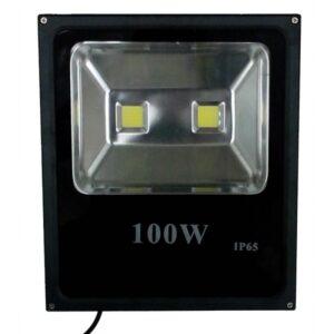 pazari4all.gr-Προβολέας LED 100W Διπλός IP65 Αλουμινίου