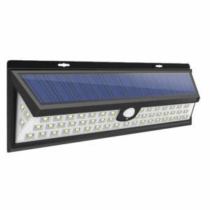 pazari4all-Ηλιακό φωτιστικό εξωτερικού χώρου με ανιχνευτή κίνησης 54 led SJ754-4 Solar sensor outdoor