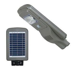 Ηλιακό Φωτιστικό LED Δρόμου, Αδιάβροχο, Αυτόνομο 30W με ενσωματωμένο φωτοβολταϊκό πάνελ ΚΑΙ ΑΝΙΧΝΕΥΣΗ ΚΙΝΗΣΗΣ-pazari4all.gr