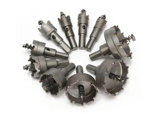 Σετ ποτηροτρύπανα 10 τεμαχίων σιδήρου 16mm-53mm.-pazari4all.gr