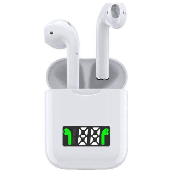 pazari4all.gr-Ασύρματα Ακουστικά Bluetooth i99 με Ψηφιακή Οθόνη στη Θήκη Φόρτισης