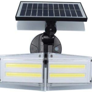 pazari4all.gr-Ηλιακός προβολέας εξωτερικού χώρου με αισθητήρα κίνησης 80 COB IP 65 αδιάβροχο