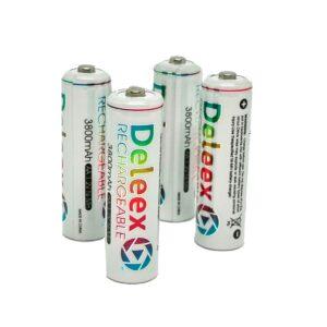 pazari4all.gr-Μπαταρίες επαναφορτιζόμενες 2Α Deleex.