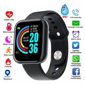 pazari4all.gr-Y68 Smart ρολόι αδιάβροχο αθλητικό