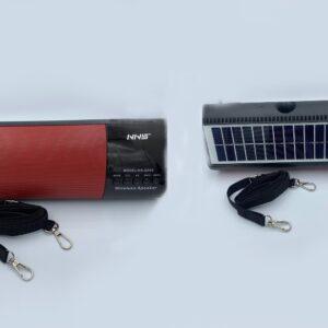 pazari4all.gr-Ασύρματο ηχείο με ηλιακό πάνελ NS-Q95S