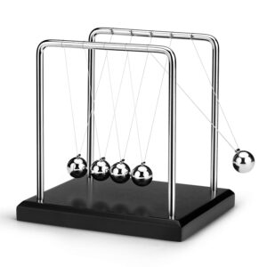 pazari4all.gr-Το εκκρεμές του Νεύτωνα Newtons Cradle Balance Balls Medium