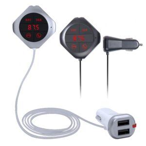 pazari4all.gr-Φορτιστής Αυτοκινήτου Fm transmitter - Bluetooth CAR Q7S (Μαύρο)