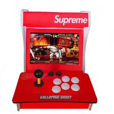 pazari4all.gr-Κονσόλα παιχνιδιών Supreme Street Fight Arcade 400 παιχνίδιων