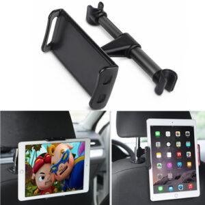 pazari4all.gr-Βάση Στήριξης Κινητού & Tablet 360 για το Προσκέφαλο του Αυτοκινήτου
