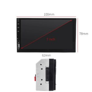 Οθόνη 2Din multimedia Mirrorlink 7002 ΕΛΛΗΝΙΚΟ MENU OEM-pazari4all.gr