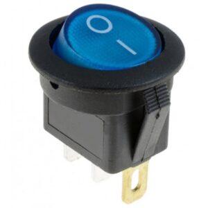 Αδιάβροχος διακόπτης On/Off 12V 20A (max) 3 pins μπλε OEM ΧΑΡΑΚΤΗΡΙΣΤΙΚΑ: 12V 20A διακόπτης αυτοκινήτου ON/ OFFLED Ταιριάζει σε 2cm / 20mm Ο διακόπτης έχει τρία pins 4.8mm (Pos, Acc, Neg) Όταν ο διακόπτης είναι ενεργοποιημένος ανάβει μπλε φως Υλικό: Πλαστικό-pazari4all.gr