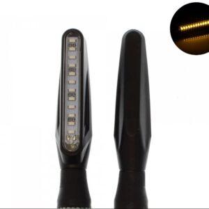 Φλάς μηχανής LED πορτοκαλί universal 12 SMD 12V IP65 σετ 2 τεμ. YN-WL01-pazari4all.gr