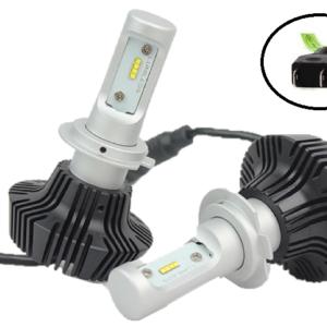 LED KIT με Philips LED Lumileds H7 6500K 50W 8000LMNS OEM -pazari4all.gr