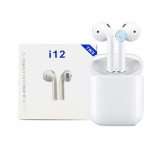 pazari4all.gr-Ασύρματα Ακουστικά Earbuds Bluetooth v5 i12 TWS Wireless Touch OEM