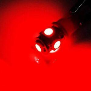 T10 W5W W16W 5 SMD LED 12V κόκκινο 1 τεμ. OEM-pazari4all.gr