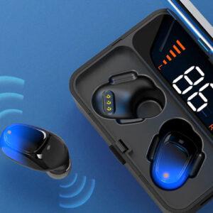 pazari4all.gr-Bluetooth Ακουστικά TWS -ES01 Bluetooth 5.0