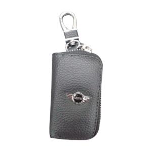 Mπρελοκ κλειδιών θήκη με δερματίνη Mini cooper-pazari4all.gr