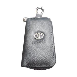 Mπρελοκ κλειδιών θήκη με δερματίνη Toyota.