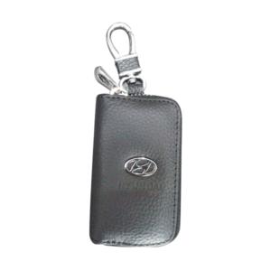 Mπρελοκ κλειδιών θήκη με δερματίνη Hyundai.-pazari4all.gr